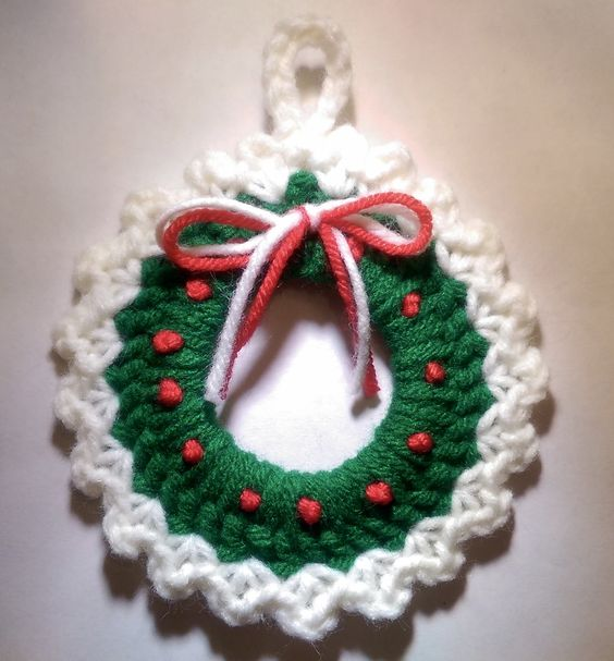 Christmas Wreath Ornament.