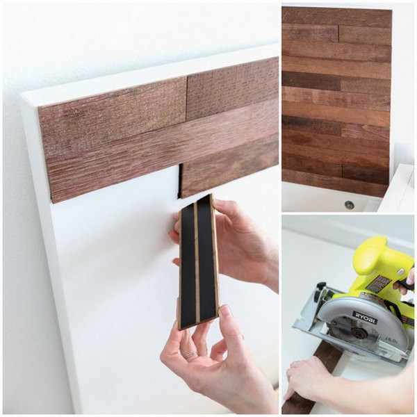 IKEA Hack Stikwood Headboard