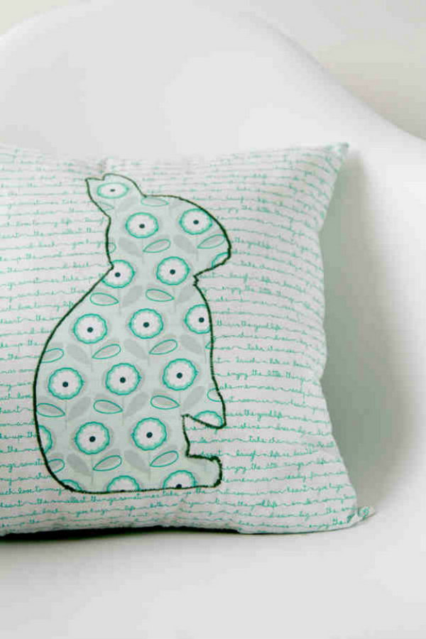 DIY Hoppy Pillow