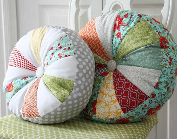 DIY Sprocket Pillows