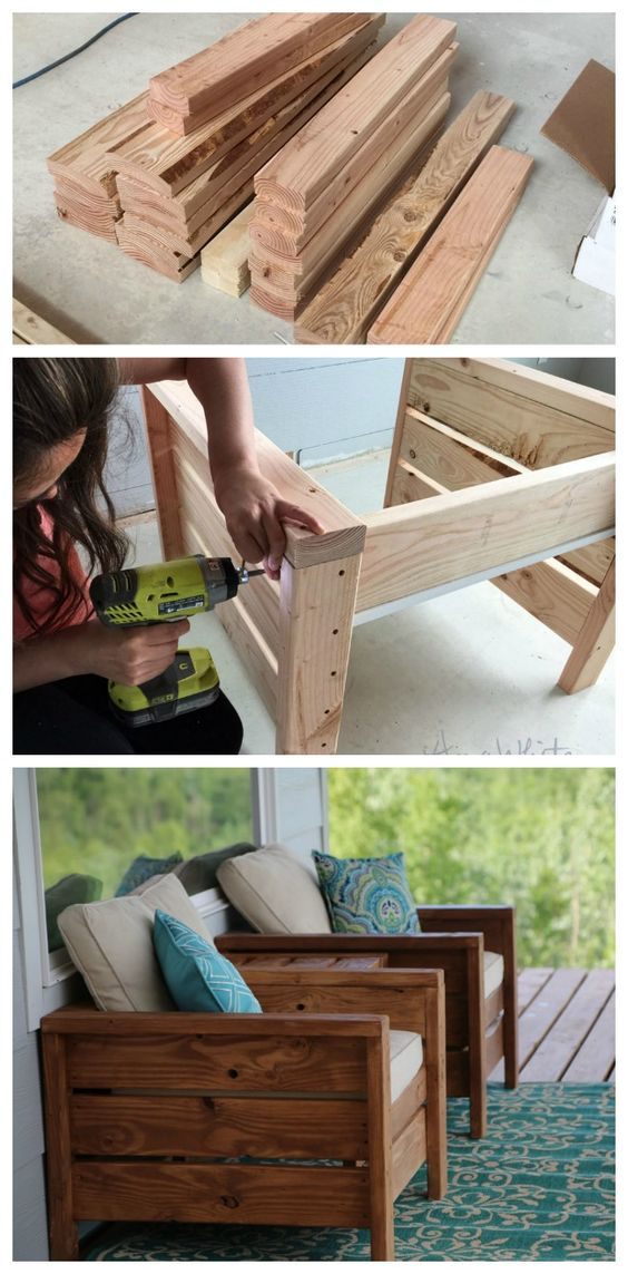 30 creative diy wood project ideas tutorials for your home for Outdoor wood projects ideas