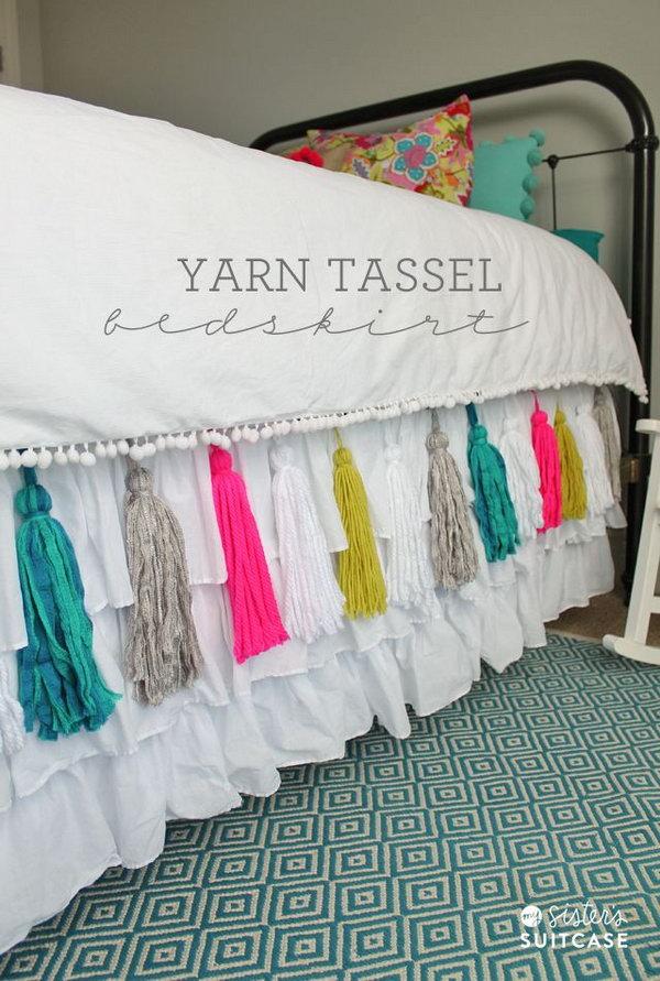 Yarn Macrame Chandelier