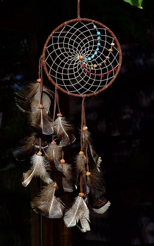 Native American Dream catcher.