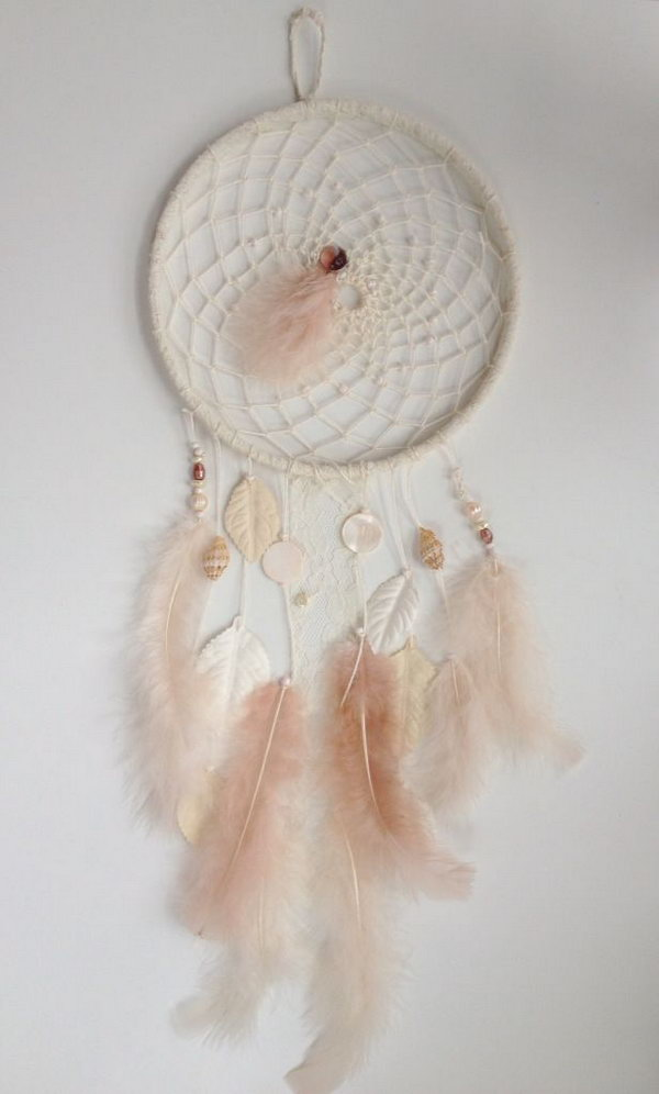 Pretty Homemade Dream catcher.