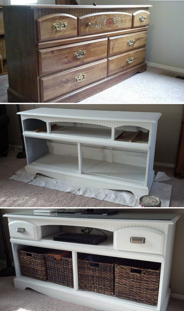 TV Stand Makeover.