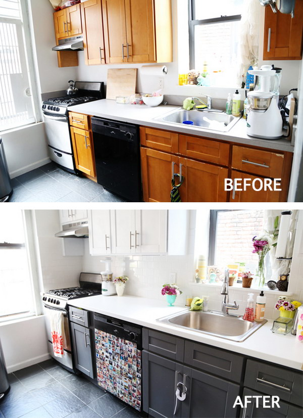 Sprucing Up the Kitchen with A Mini Makeover.