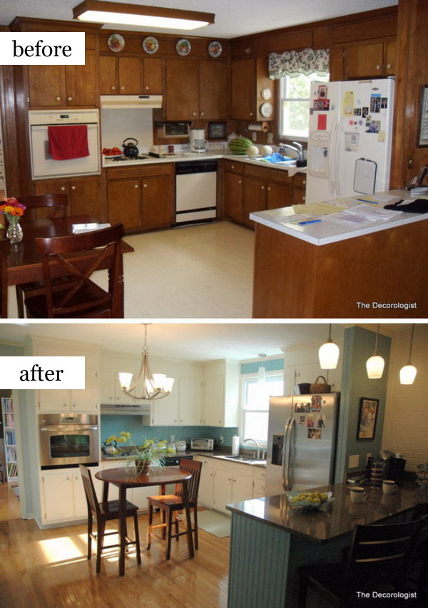 Light and Bright Kitchen After Design Intervention.