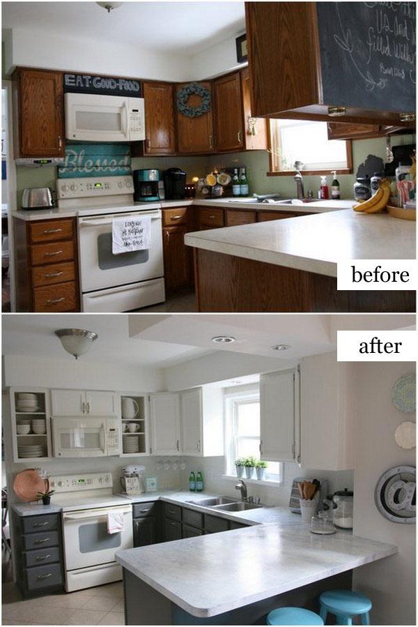 Fixer Upper Inspired Kitchen Reveal.