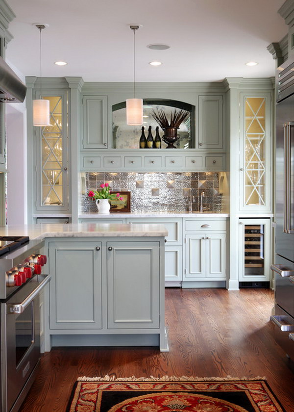 gray green kitchen cabinets 80 cool kitchen cabinet paint color ideas 16007