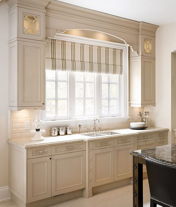 Dark Beige Kitchen Cabinets: 80+ Cool Kitchen Cabinet Paint Color Ideas