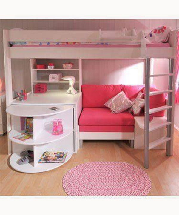 Loft Bed For Girl. 30  Cool Loft Beds for Small Rooms
