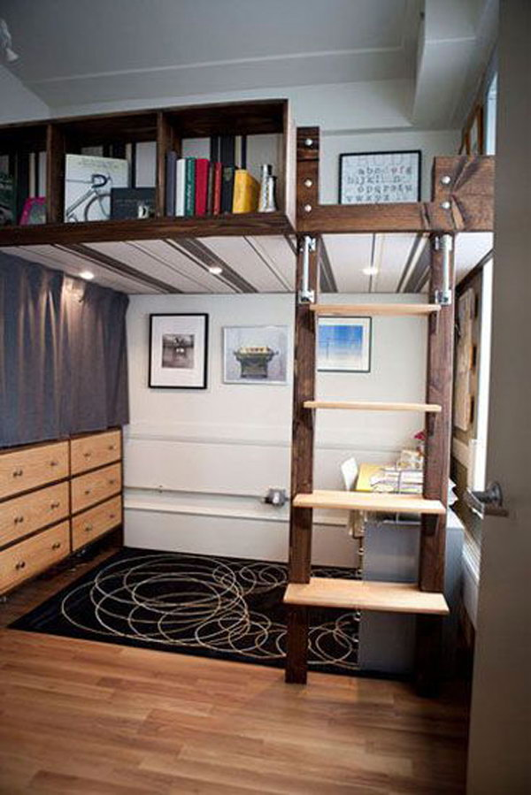 Wooden Loft Beds Design