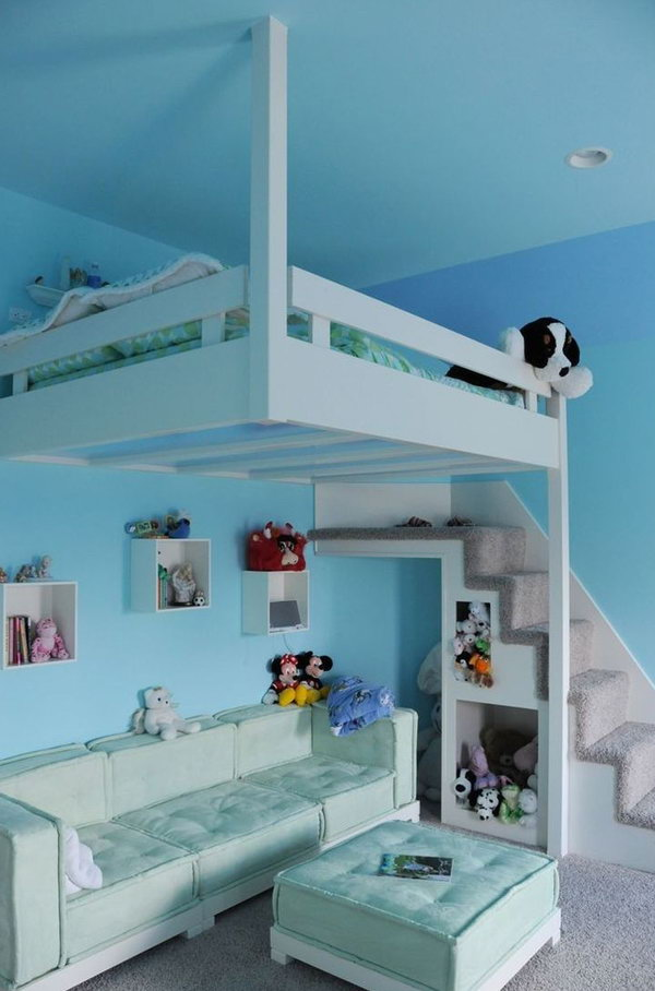 Loft bed bedroom ideas