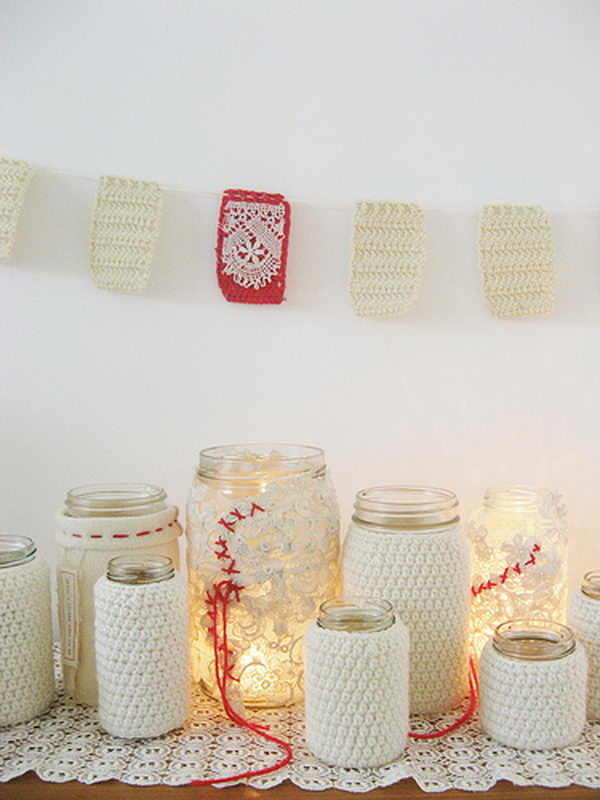 Gleeful Jam Jars for Wedding.