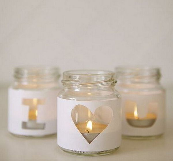 DIY Votive Holder.