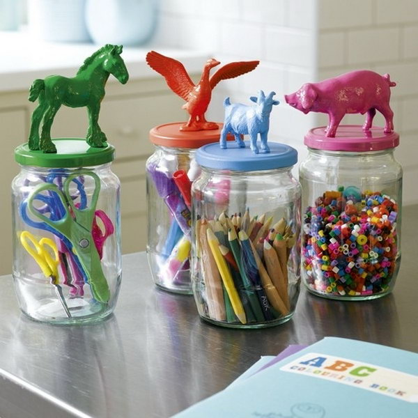 Children's Craft Storage.