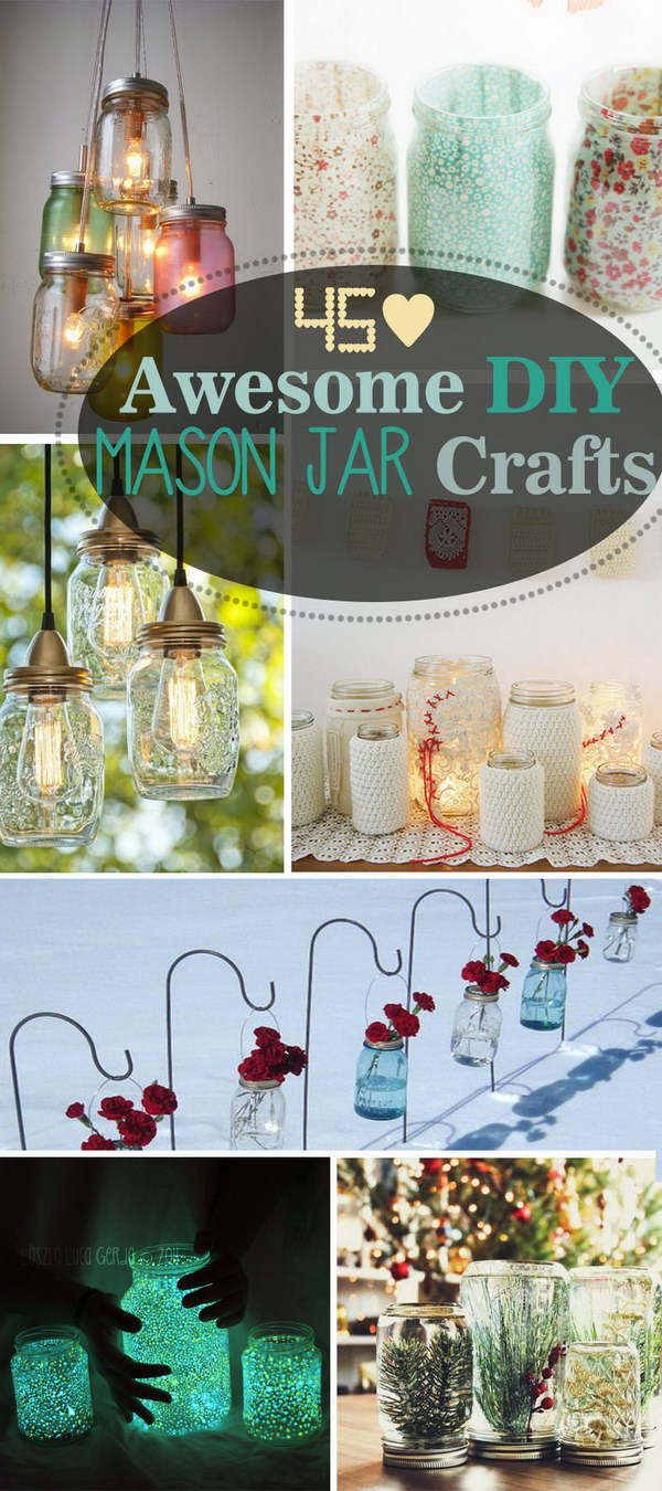 Awesome DIY Mason Jar Crafts!