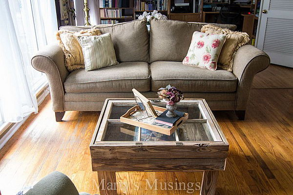 Lovely Window Table. Tutorial
