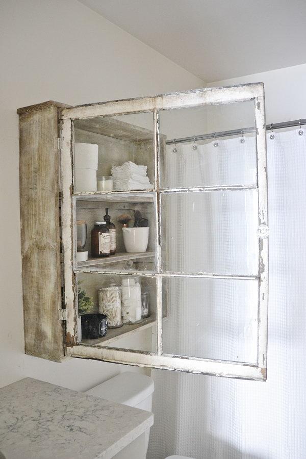 DIY Window Cabinet.