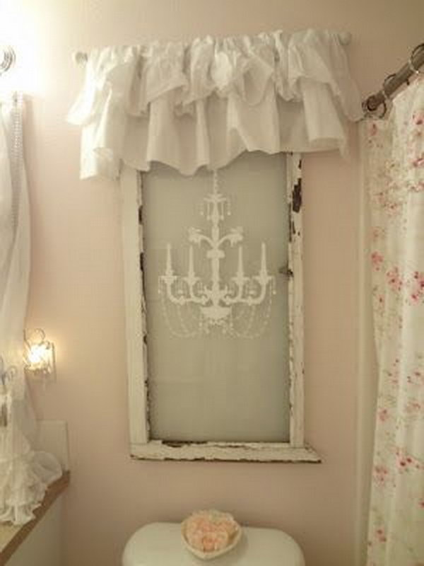 Window Sash Craft Ideas
