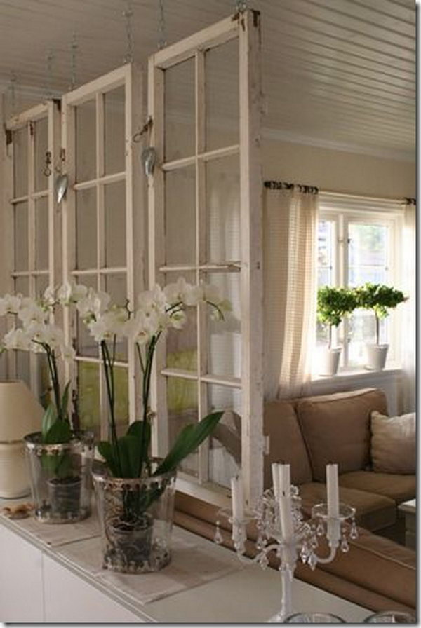 A Chic Space Divider.