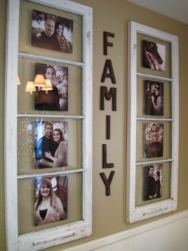 Turn Your Old Windows Into Lovely Keepsakes.