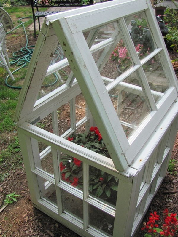 Make Your Own Small Window-Based Flower House.