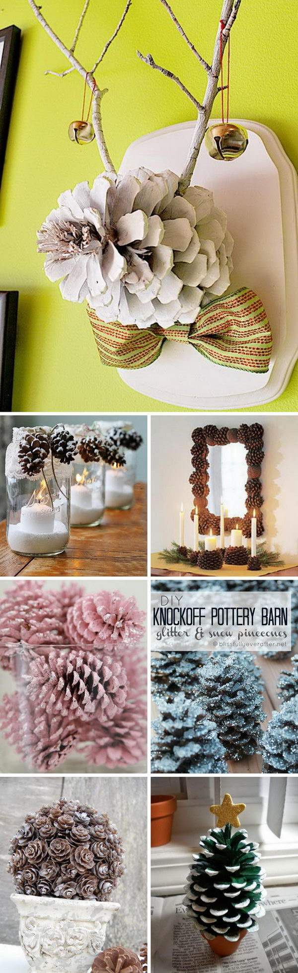 30 Beautiful Pinecone Decorating Ideas amp Tutorials For Holiday