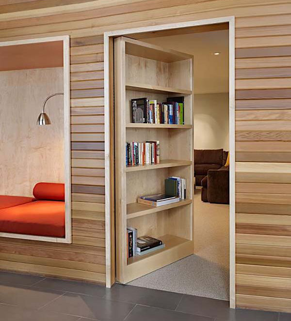 Book Storage Secret Room Ideas