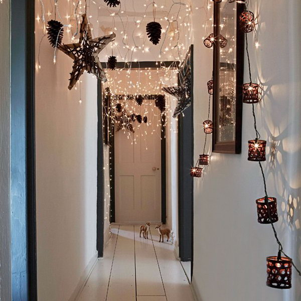 Add Lights in the Hallway.
