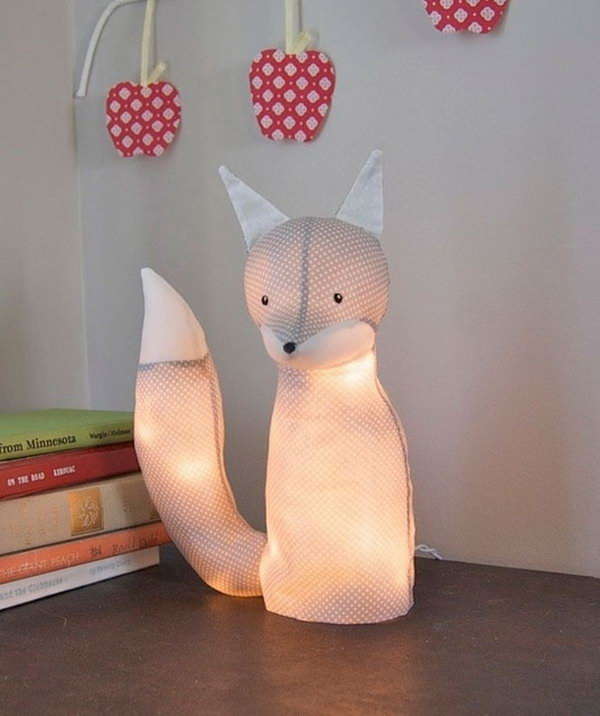 Stuffed Animal with LED Lights.Get the tutorial