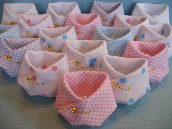 Homemade Baby Shower Favors.