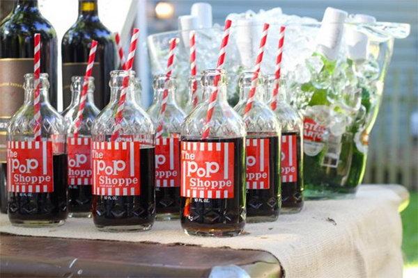 Old-Fashioned Soda Pop.
