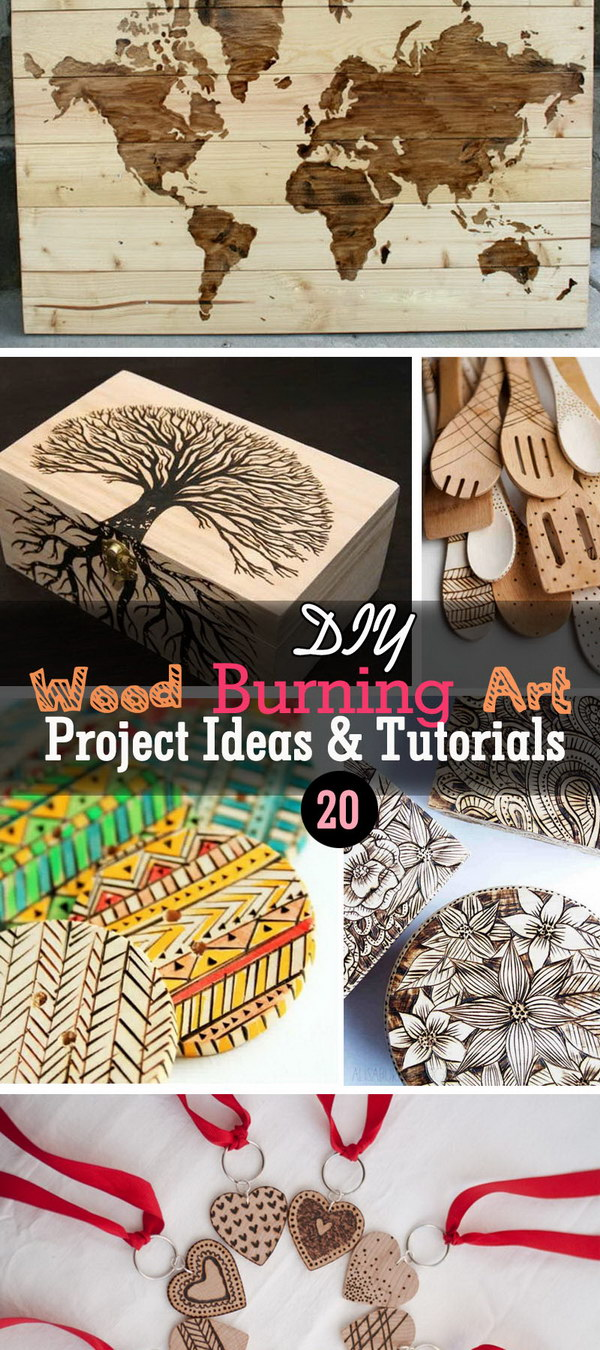 20 Diy Wood Burning Art Project Ideas Tutorials