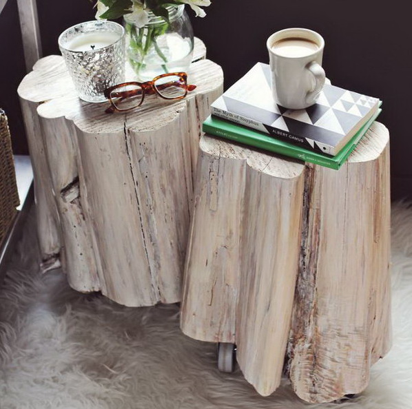 20 Amazing Ideas That Will Make Your House Awesome: 20 Cool Tree Stump And Log DIY Projects