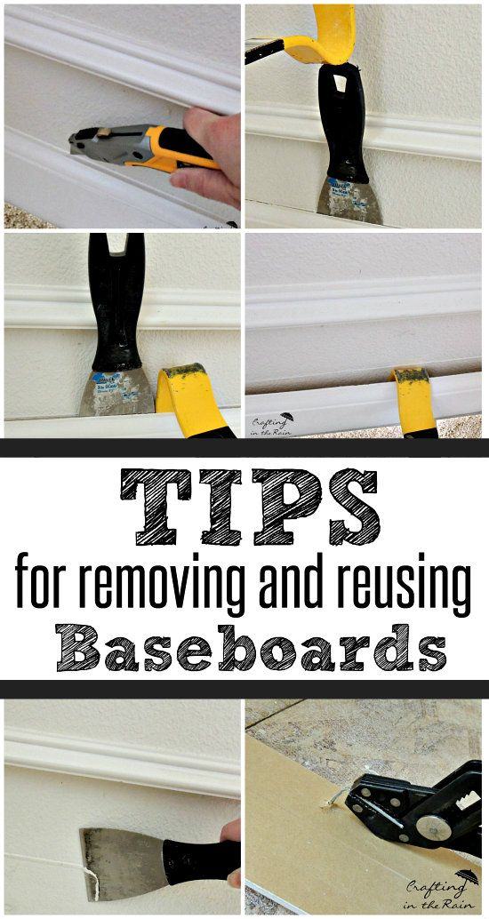 How to Remove Baseboards without Damage.