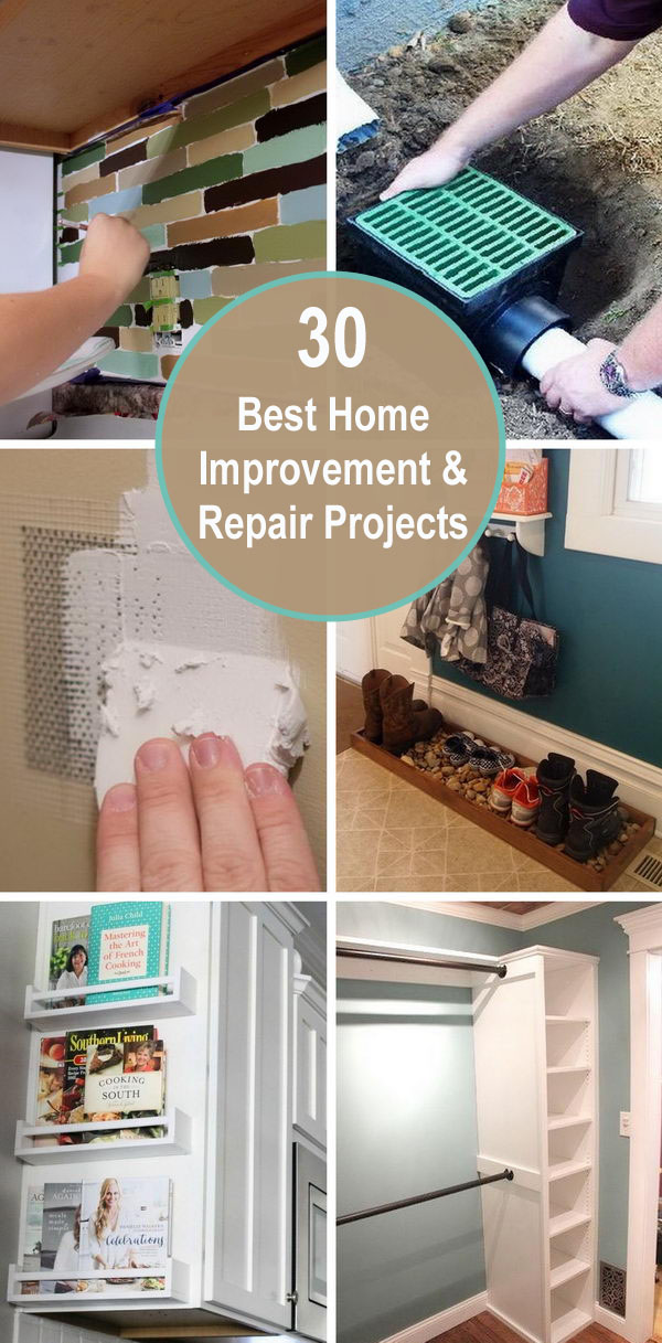 30+ Best Home Improvement and Repair Projects.