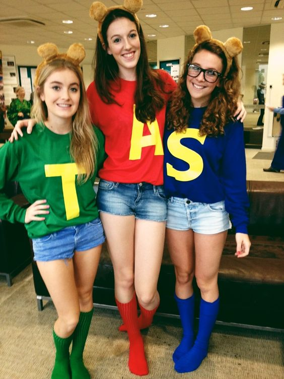 Alvin And The Chipmunks Costumes  sc 1 st  Flux Decor & 30+ Best Friend Costumes
