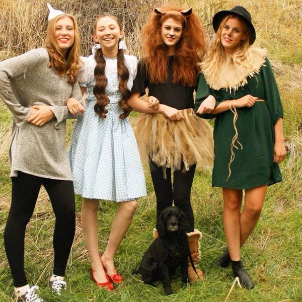 Wizard of OZ Costumes.