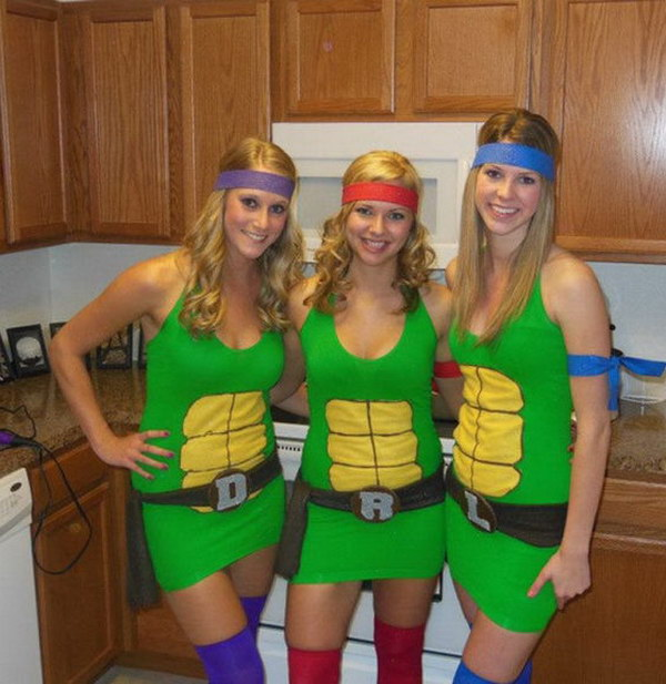 Ninja Turtle Costumes for Girls.