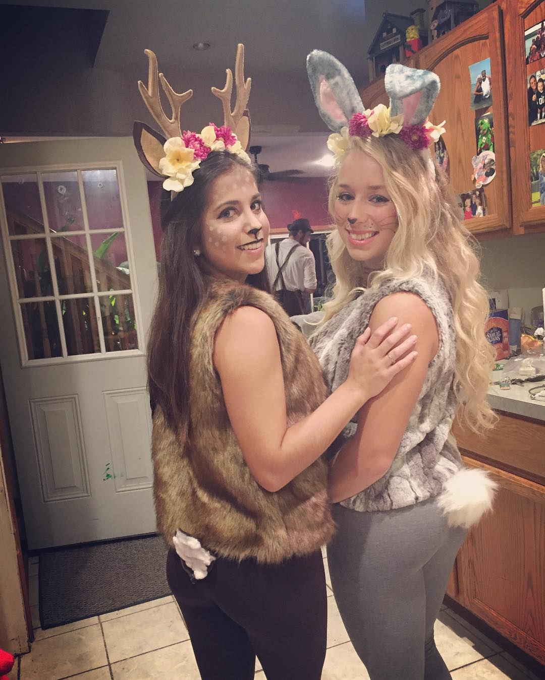 Bambi And Thumper Costumes.