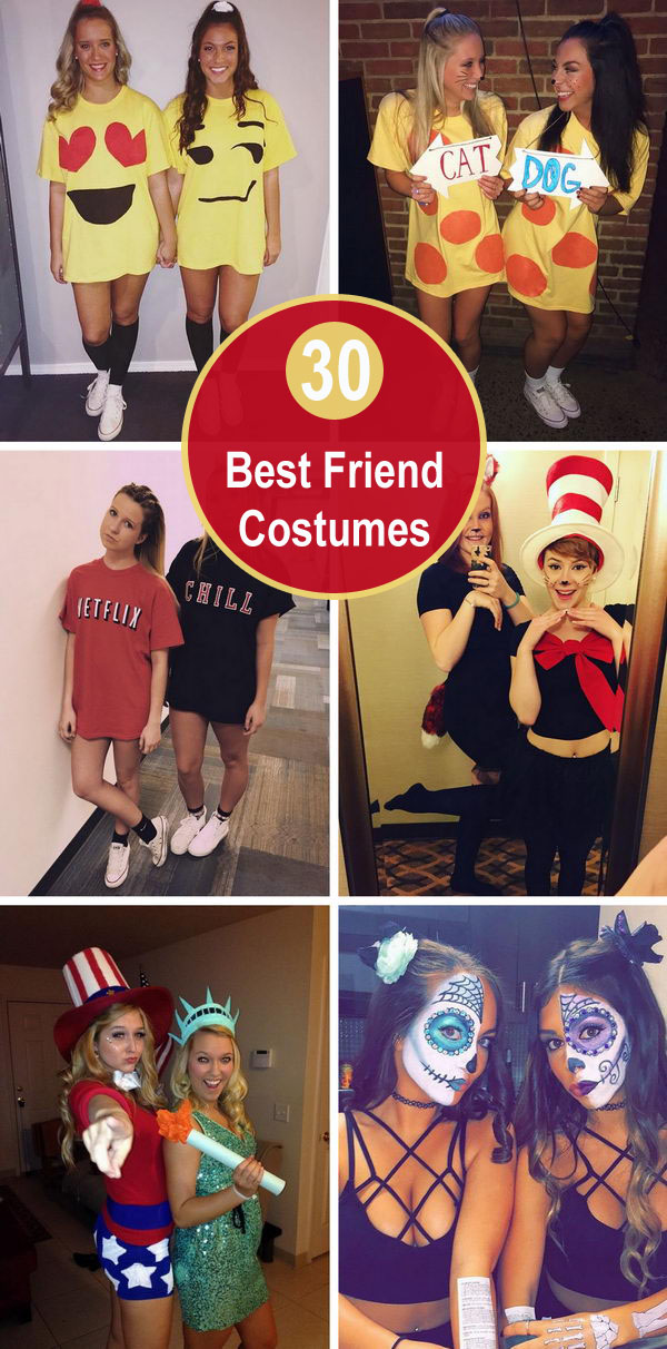 30+ Best Friend Costumes.