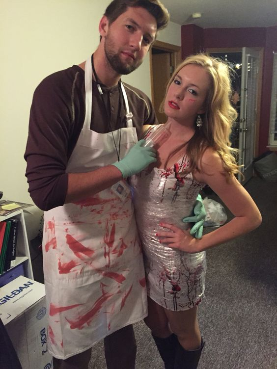 Dexter Couple Costume.