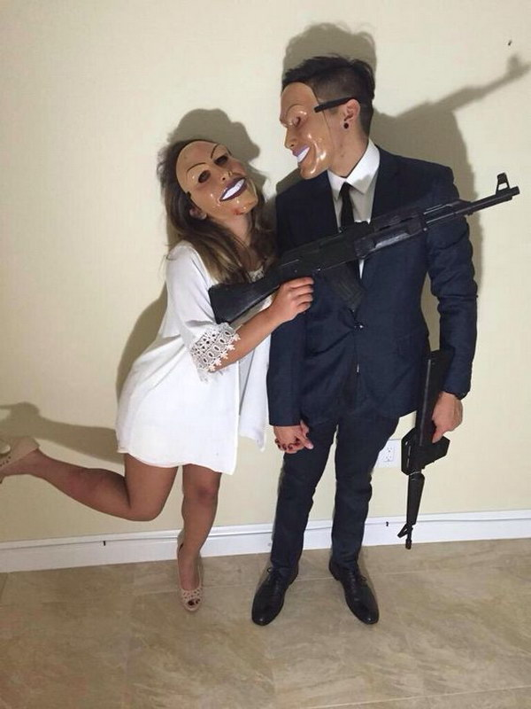 The Purge Couples Costume.