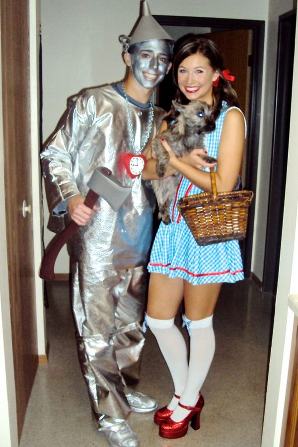 Wizard of Oz Couple Costumes.