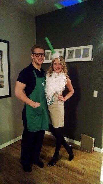Starbucks Drink Couples Costume  sc 1 st  Flux Decor & 50+ Best Coupleu0027s Costumes