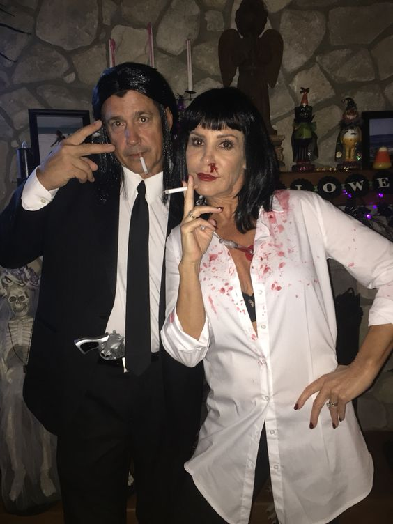 Pulp Fiction Couple Costume.
