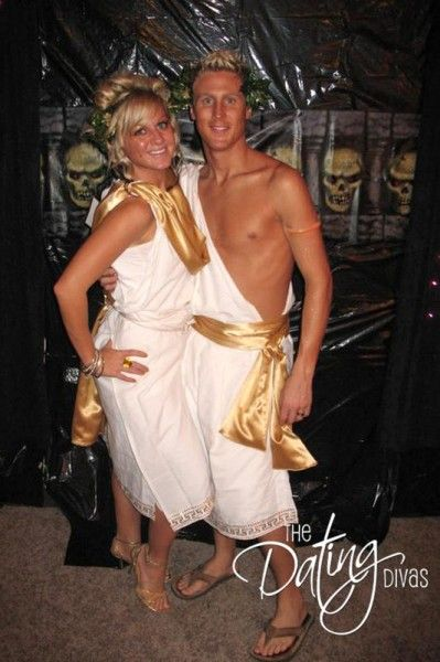 Greek God Couple Costumes.