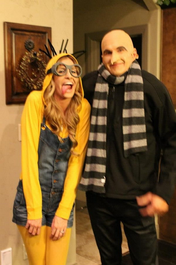 Minion and Dr. Gru--Ryan Costumes.