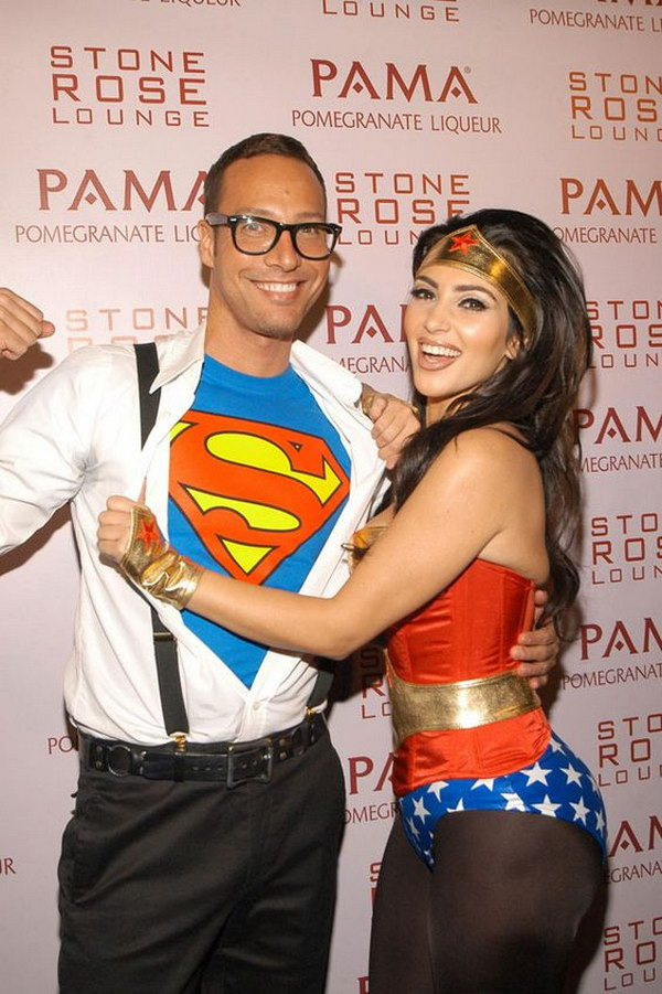Superhero Couple Costumes.